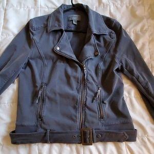 Anthropology Moto Jacket